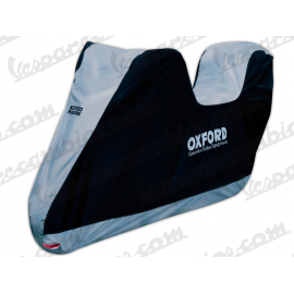 FUNDA MOTO CON BAUL OXFORD XL